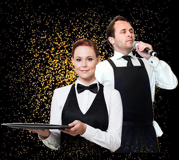 singing-waiters